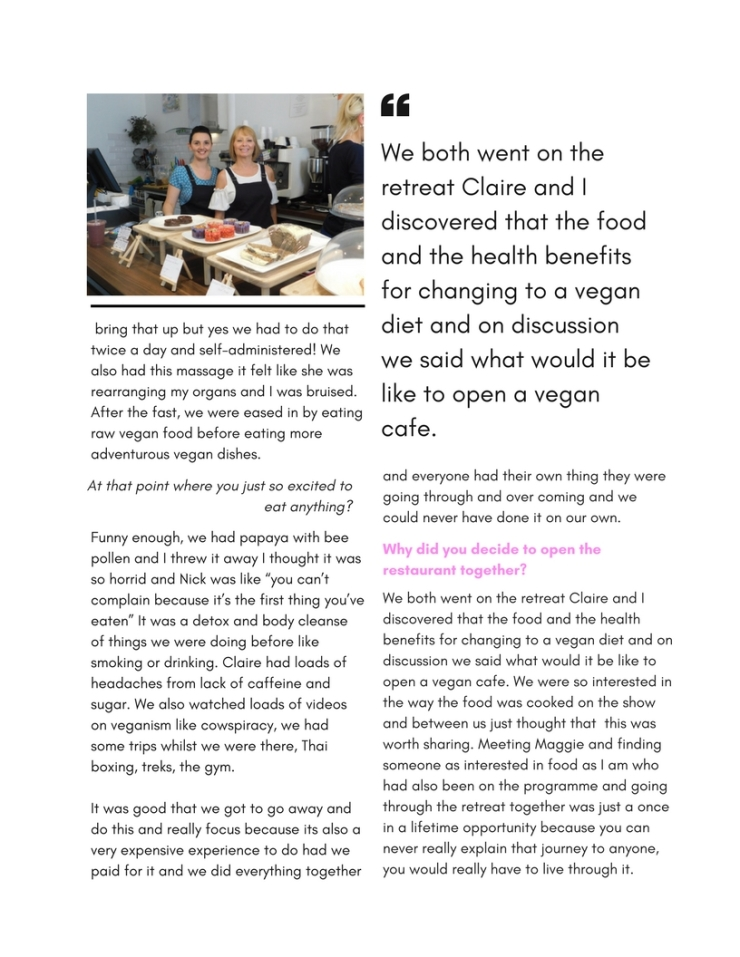 The retreat Kitchen Interview (2)