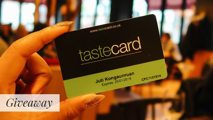 Tastecard Giveaway